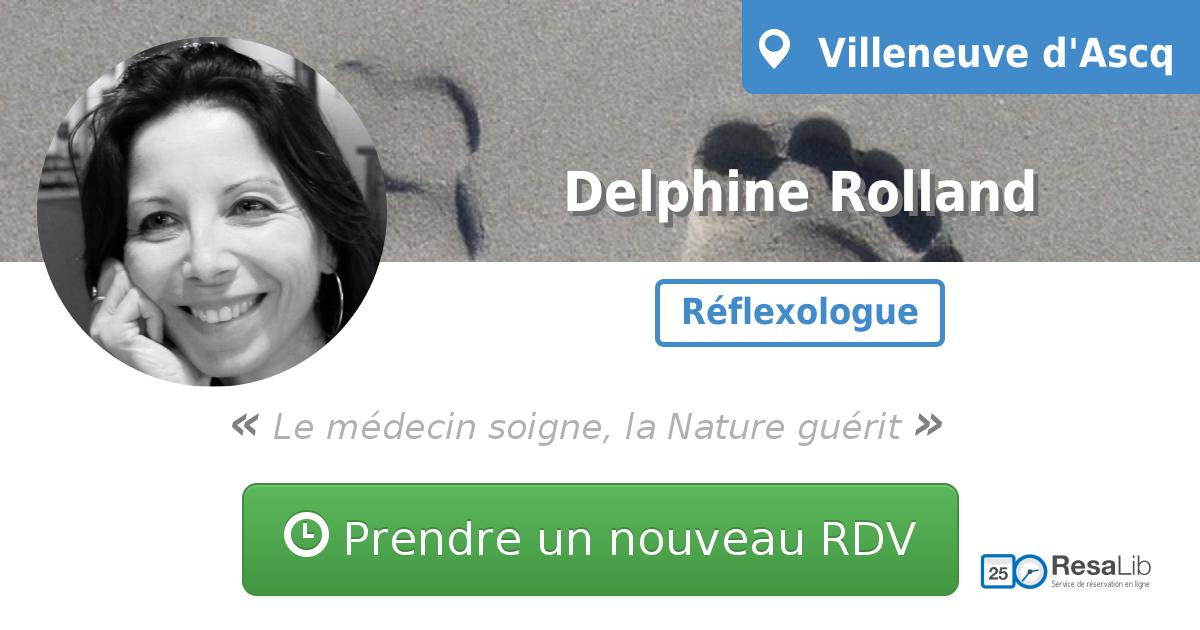 prenez rendez-vous en ligne avec Delphine Rolland