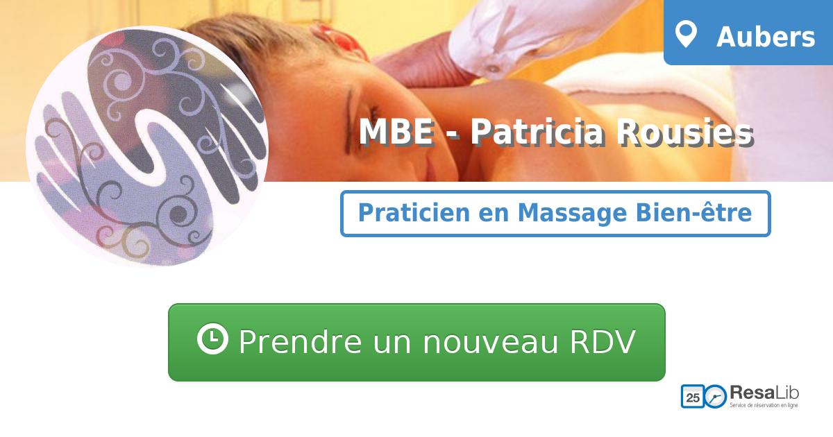 prenez rendez-vous en ligne avec Patricia Rousies