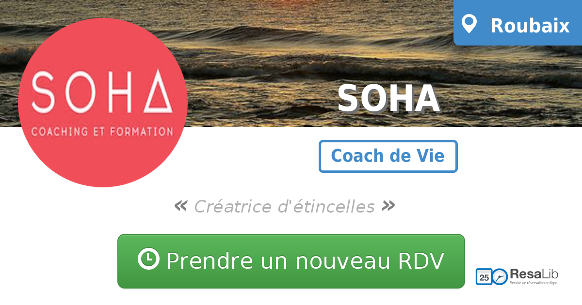 Prenez renez-vous avec SOHA