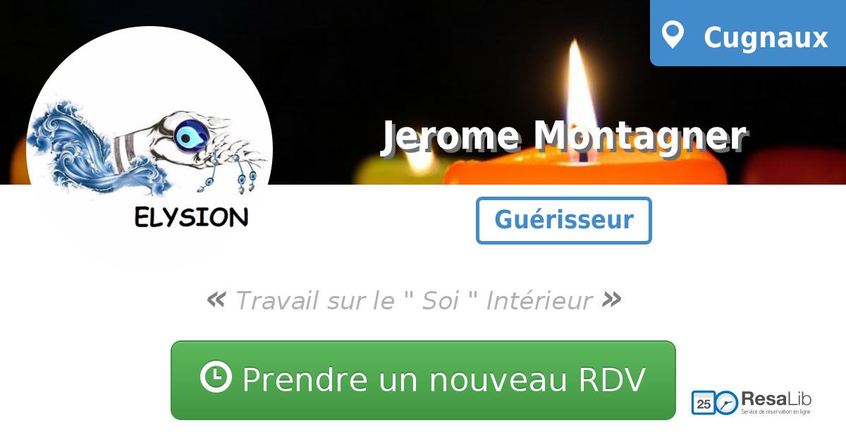 prenez rendez-vous en ligne avec Jerome Montagner