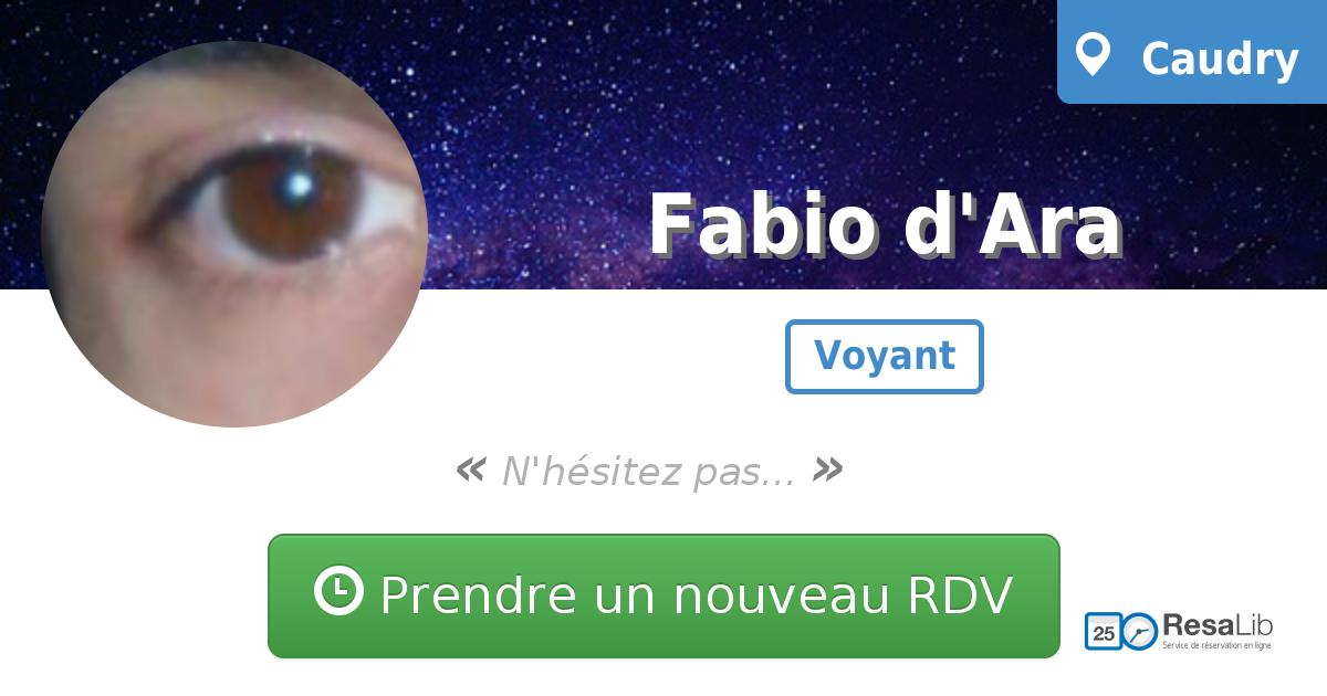 Prenez renez-vous avec Fabio D