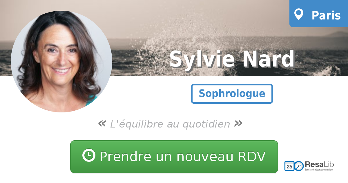 Prenez renez-vous avec Sylvie NARD