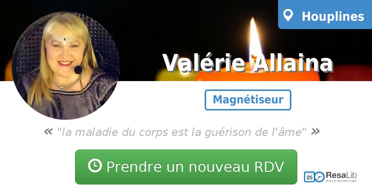 Prenez renez-vous avec Valérie ALLAINA