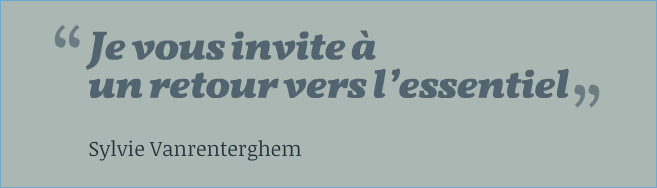 citation sylvie vanrenterghem