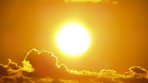 soleil plein