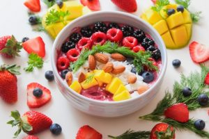 plat fruits