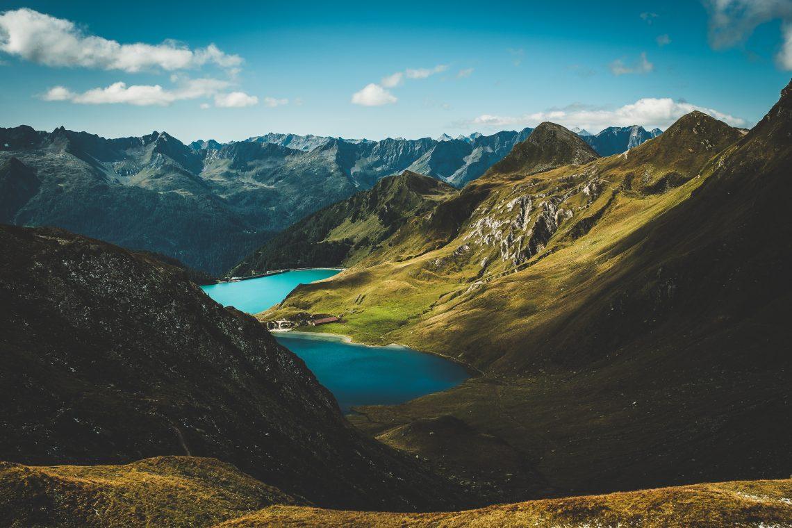 lac montagne nature