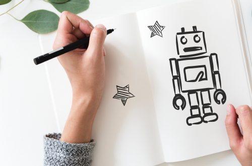 personne qui dessine