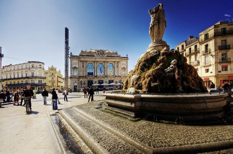 Photot Montpellier Place de la Comédie