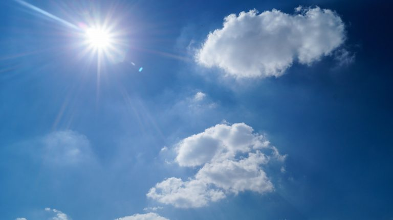 photo ciel et nuages