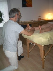 photo massage pieds