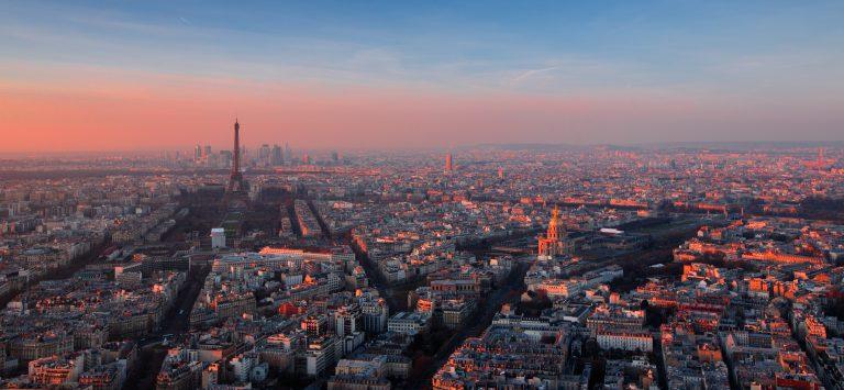 photo aérienne de paris
