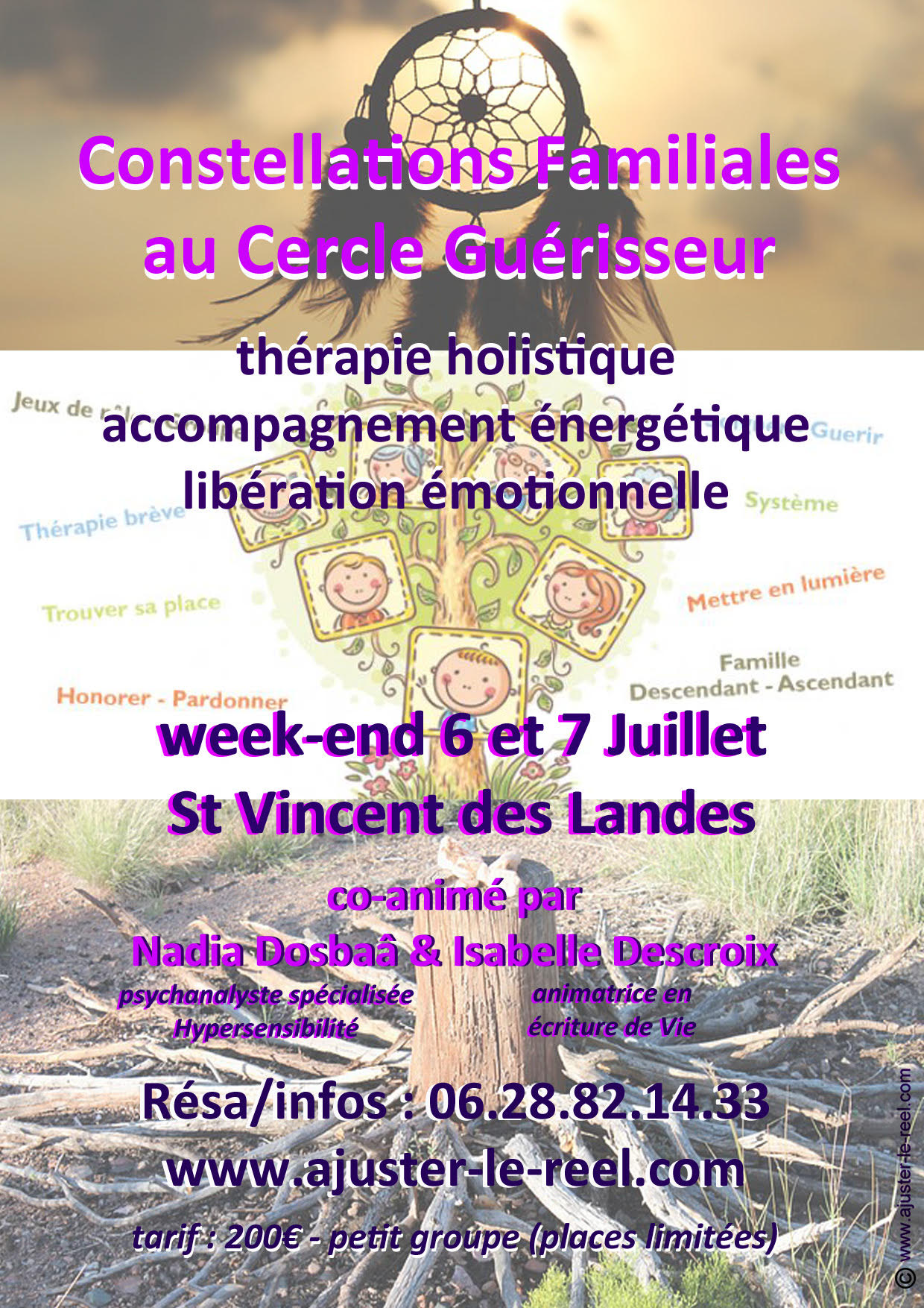 Constellations Familiales Saint vincent des landes