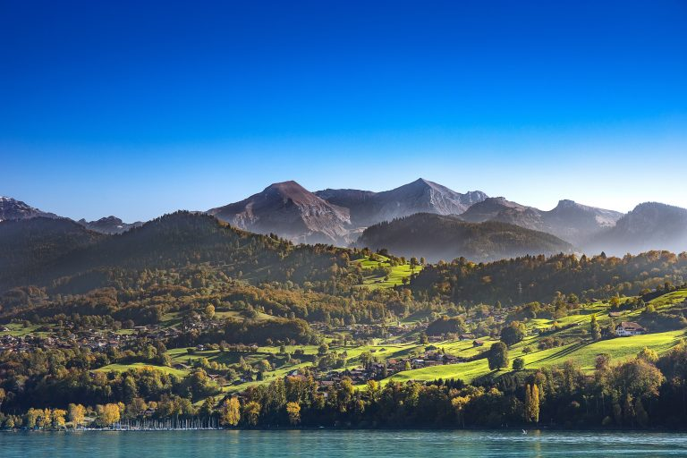 alpes suisse leman