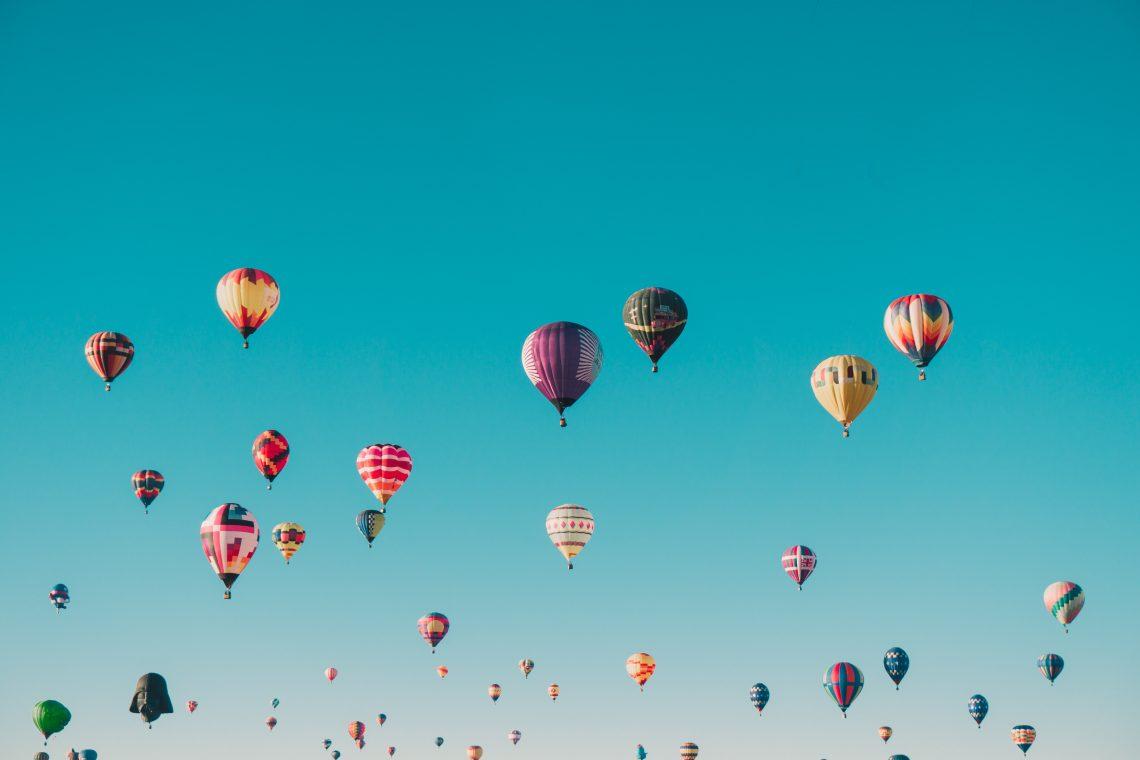 Montgolfier ciel