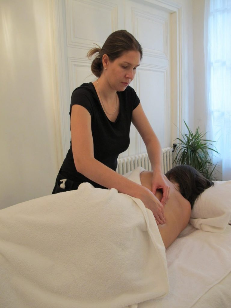 massage par Sophie Brunel