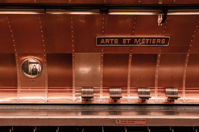 photo metro art et mérier