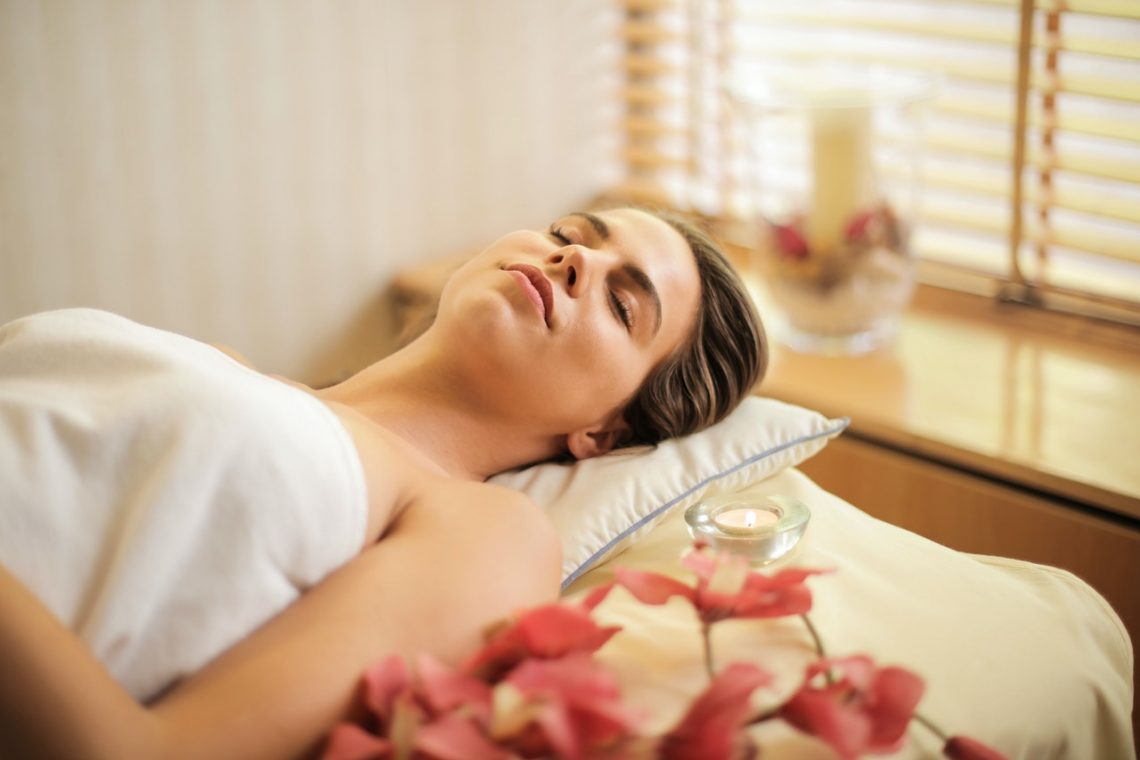 photo femme massage
