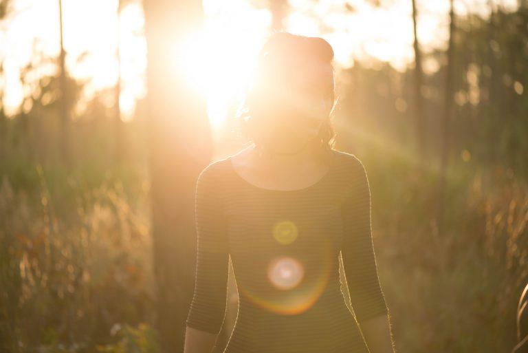 femme soleil