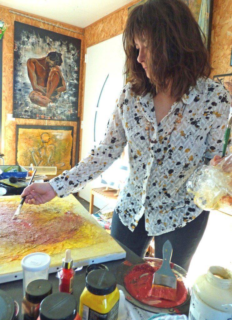 Marie-Laure Kônig peinture